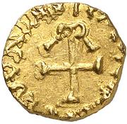 Tremissis - Mundericus (Sedunum, Merovingian Mint) – reverse