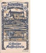 10 Heller (Sitzenberg) -  obverse