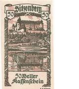 50 Heller (Sitzenberg) -  obverse