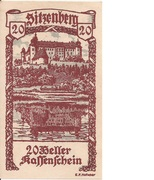 20 Heller (Sitzenberg) -  obverse