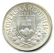 20 Korún (St. Cyril and St. Methodius) – obverse