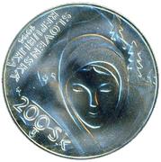 200 Korún (Janko Alexy) – obverse
