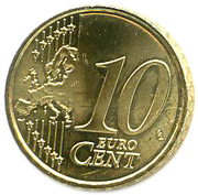 10 Euro Cent -  reverse