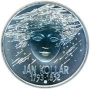 200 Korún (Ján Kollár) – reverse