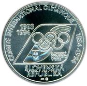 200 Korún (Olympic Committee) – obverse