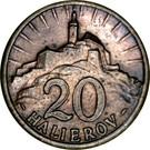 20 Halierov – reverse