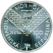 200 Korún (Slovak Uprising) – obverse
