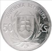 50 Korún (Slovak Republic Anniversary) – obverse