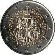 2 Euro  (Constantine and Methodius) -  obverse