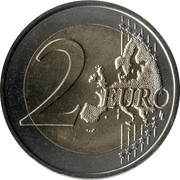 2 Euro  (Constantine and Methodius) -  reverse