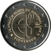 2 Euro (European Union) -  obverse