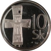 10 Korún – reverse