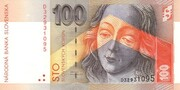 100 Korún – obverse