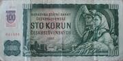 100 Korún Provisional Note – obverse