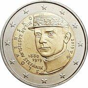 2 Euro (Milan Rastislav Štefánik) -  obverse