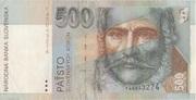 500 Korun – obverse
