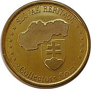 Slovak Heritage Collectors Coin - Grandhotel Starý Smokovec – reverse