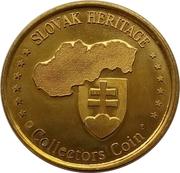 Slovak Heritage Collectors Coin - Skalnaté pleso – reverse