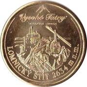 Commemorative Collector's Medal - Lomnický štít – obverse