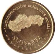 Commemorative Collector's Medal - Lomnický štít – reverse
