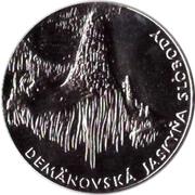 Token - Show caves (Demänovská jaskyňa slobody) – obverse