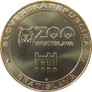 Token - Zoo Bratislava (Wolf) – reverse