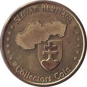 Slovak Heritage Collectors Coin - Strbske Pleso – reverse