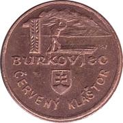 1 Burkovjec - Haligovce (Goralsky Dvor) – obverse