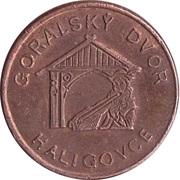 1 Burkovjec - Haligovce (Goralsky Dvor) – reverse