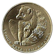 Token - Zoo Bratislava (Ring-tailed lemur) – obverse