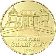 Medal - Cerenany castle – reverse