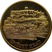 Commemorative Collector's Medal - Spišský Hrad – obverse
