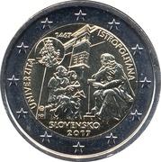2 Euro (University Istropolitana) -  obverse