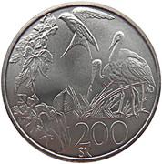 200 Korún (European Environmental Protection) – reverse