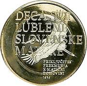 3 Euro (Rejoining of Prekmurje Region) -  obverse