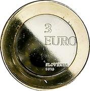 3 Euro (Rejoining of Prekmurje Region) -  reverse