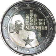 2 Euro (Franc Rozman-Stane) -  obverse