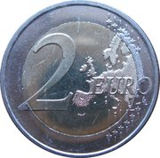 2 Euro (10 Years of EMU) -  reverse