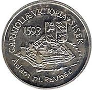 500 Tolarjev (Battle of Sisek) – reverse