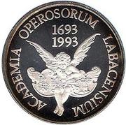 500 Tolarjev (Academia Operosorum Labacensium) – reverse