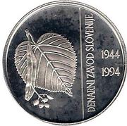 500 Tolarjev (Monetary Institute of Slovenia) -  reverse