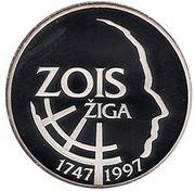 500 Tolarjev (Zois Žiga) – reverse