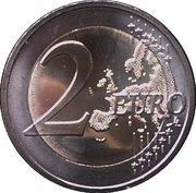 2 Euro (10 Years of Euro Cash) -  reverse