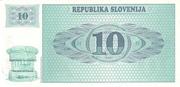 10 Tolarjev -  reverse