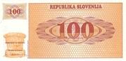 100 Tolarjev – reverse