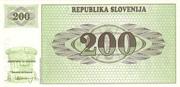 200 Tolarjev -  reverse
