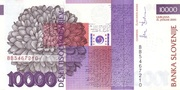 10 000 Tolarjev (EU Entry) – reverse
