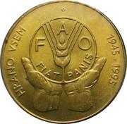 5 Tolarjev (FAO) – reverse