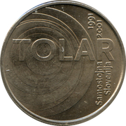100 Tolarjev (Slovenia and the Tolar Anniversary) – reverse