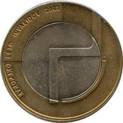 500 Tolarjev (European Year of the Disabled) – reverse